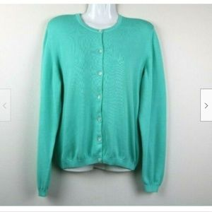 Lilly Pulitzer Long Sleeve Cotton Cardigan